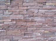 Red Sandstone CLadding